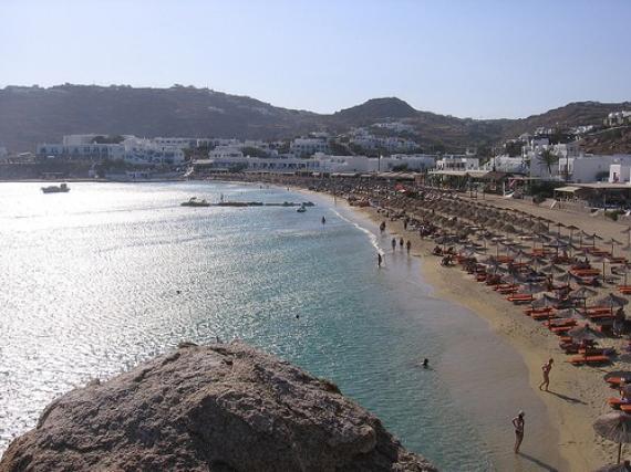 Platys Gialos Beach 2 Mykonos